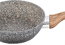 Сковорода з кришкою Benson BN-538 з гранітним покриттям 24 див., фото 3