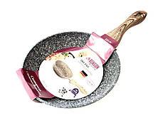 Сковорода с крышкой Benson BN-537 с гранитным покрытием 22 см. PR4, фото 2