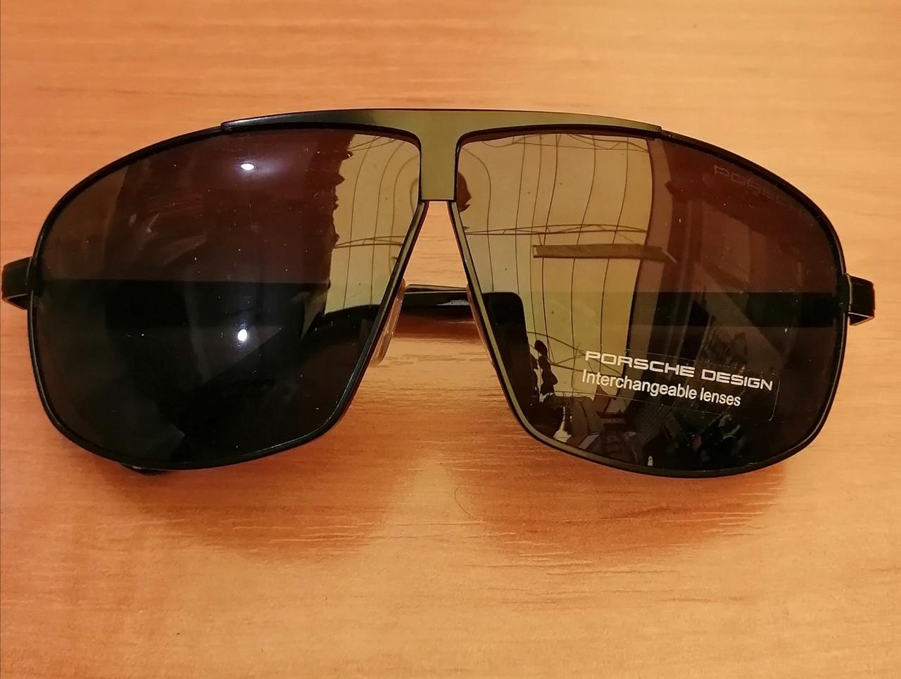 Очки мужские солнцезащитные porsche, черные