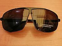 Очки мужские солнцезащитные porsche, черные, фото 1