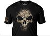 Футболка  мужская  Дух война  7.62 Design USMC Desert MARPAT Skull  Battlespace Men's T-Shirt, фото 2