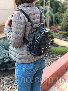 Плетений жіночий міні рюкзак Valensiy