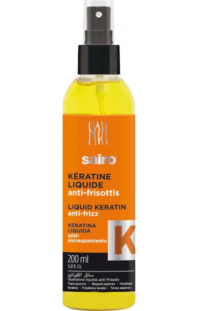 Рідкий кератин 200 мл Liquid Keratin Anti-frizz Sairo 8414227052629