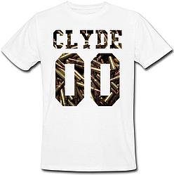 Мужская именная футболка CLYDE - Ammo (принт спереди) [Цифры можно менять] (50-100% предоплата)
