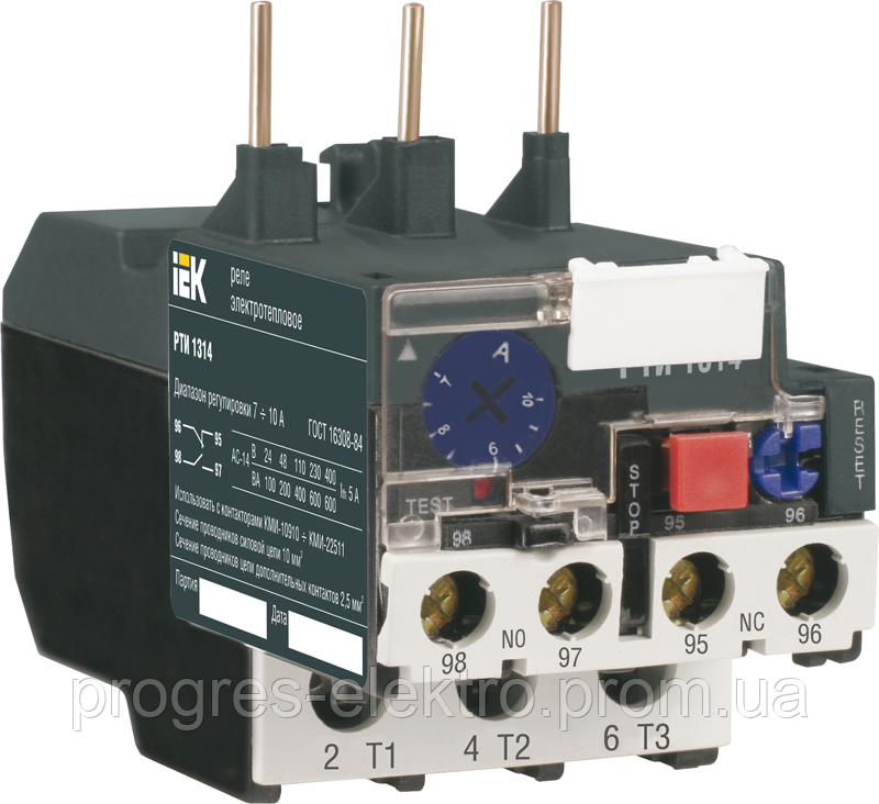 Электротепловое реле РТИ-1301 0,1-0,16А ИЭК