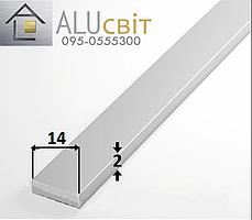 Полоса (шина) алюминиевая 14х2 без покрытия