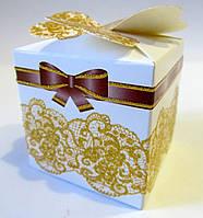 242 Бонбоньерка свадебная 5х5х6 см