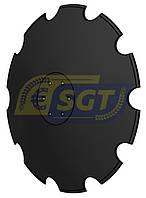 Диск 610 мм на борону Tolmet (H=82, выпуклый SKF), фото 1