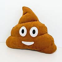 Мягкая игрушка Zolushka смайлик emoji Мистер какашка 16см (615)