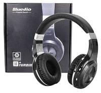 Беспроводные bluetooth наушники Bluedio H+ с микрофоном и MP3. Bluetooth стерео-гарнитура Bluedio H+