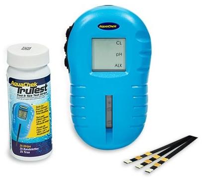 Цифровой тестер для бассейна AquaChek TruTest 3 в 1 (измеряет хлор, pH, щелочность)