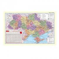 """Подложка на стол для письма Panta Plast """"Карта Украины"""", 590х415мм, 0318-0020-99"""