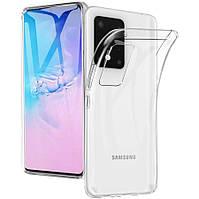 Прозрачный TPU чехол для Samsung Galaxy S20 Ultra 2020 G988 G-Case Cool Series