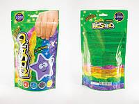 """Детский набор  креативного творчества """"Кинетический песок"""" KidSand """" пакет подарочный бумажный 1000г, Danko Toys"""