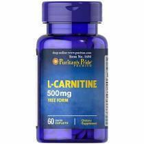 Карнитин L-Carnitine 500 mg (60 кап) Puritan's Pride