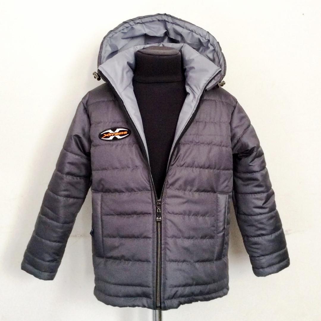 Куртка демисезонная для мальчиков (серый)
