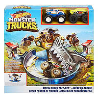 Набір «Небезпечне протистояння» серії «Monster Trucks» Hot Wheels, Hot Wheels