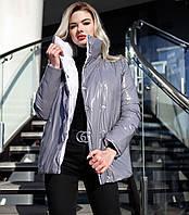 Женская двухсторонняя демисезонная курточка