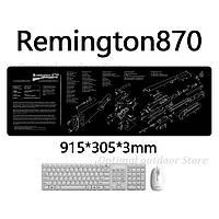 Коврик для разборки и чистки оружия Remington 810.