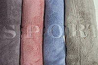 Полотенце банное Спорт (уп. 8 шт.) Микрофибра