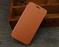 Флип Чехол книжка для Lenovo A5000 BOSO цвет коричневый
