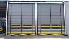 Скоростные двери/ рулонные ворота из ПВХ