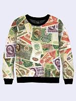 Світшот жіночий Радянські гроші