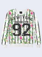 Світшот жіночий Нью Йорк Бруклин