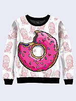 Світшот жіночий Пончик