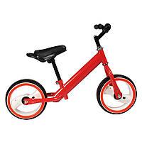 """Беговел красный TILLY 12"""" T-212515 Red EVA светящиеся колеса для деток 2-4 года"""