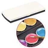 Набір для малювання. Фарби акварельні з перламутром ( металік) 12 кольорів, фото 8