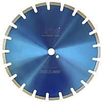 Алмазный диск по бетону Kona Flex 350 х 3,2 х 10 х 25,4 Segmented Beton