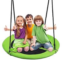 Детские качели, садовые качели - гнездо, качели-гнездо 100 см