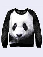 Світшот жіночий 3D Панда, фото 1