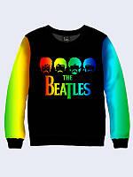 Світшот жіночий The Beatles in colors