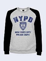 Світшот департамент поліції + чорні рукави