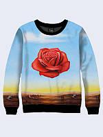 Світшот жіночий 419 троянда медитація