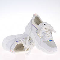 Женские  белые кроссовки F99601 WHITE KOGA  весна 2020, фото 1