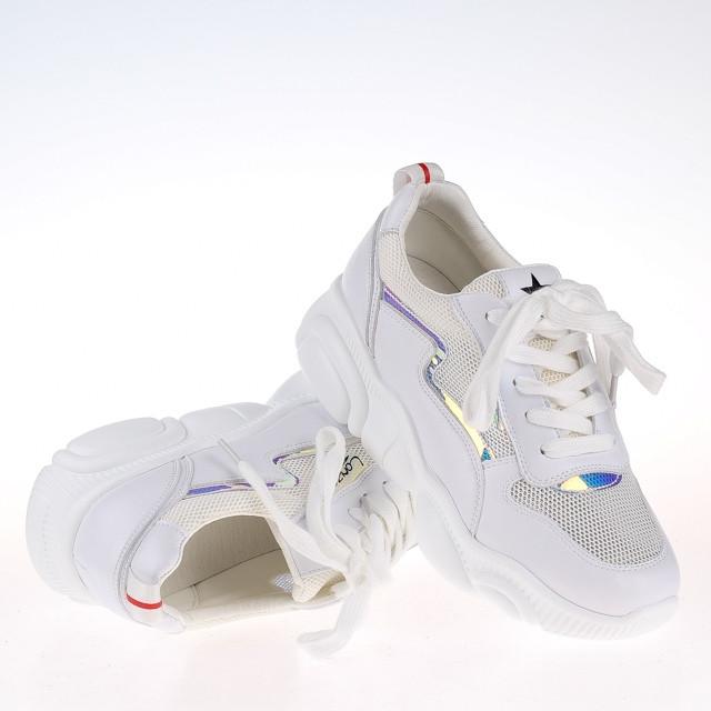 Женские  белые кроссовки F99601 WHITE KOGA  весна 2020