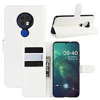 Чохол-книжка Litchie Wallet для Nokia 6.2 / 7.2 White