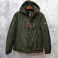 Мужская куртка Black vinyl C18-1359