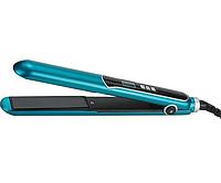 Утюжок для волос Maestro MR-254 бирюзовый | выравниватель Маэстро, выпрямитель Маестро | щипцы для выпрямления, фото 1