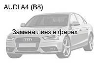 Audi A4 (B8) - замена биксеноновых линз