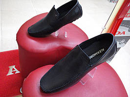 Мокасины мужские кожаные Alexandro 15402