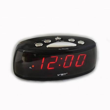Електронні настільні годинники з підсвічуванням і будильником VST 773-1 CG10, фото 2