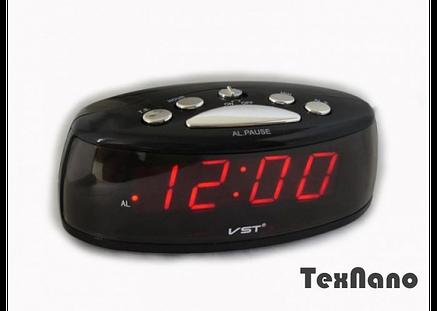 Электронные настольные часы с подсветкой  и будильником VST 773-1 CG10 PR3, фото 2