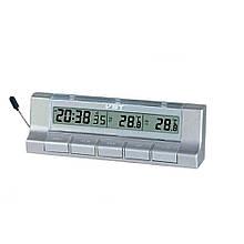 Автомобильные электронные часы с термометром VST-7037 CG10
