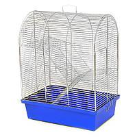 Клетка 33х23х43 см Бунгало 3 цинк для хомяка, джунгарика, грызуна