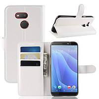 Чехол-книжка Litchie Wallet для HTC Desire 12s White