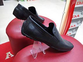 Мокасины мужские кожаные Alexandro 15402, фото 2